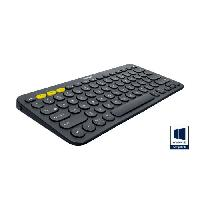 Clavier Clavier K380 Dark Grey - Multi-Device Bluetooth Keyboard