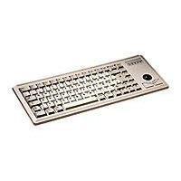 Clavier D'ordinateur Clavier G84-4400 - Filaire - USB Qwerty - Gris clair