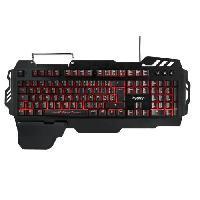 Clavier D'ordinateur Clavier Gamer Semi-Mecanique Drakkar Bifrost - AZERTY - Retroeclaire - Multimedia - PC