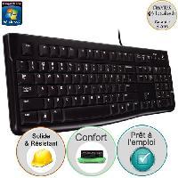Clavier D'ordinateur clavier filaire - K120 Business