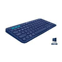 Clavier LOGITECH Clavier K380 Blue - Multi-Device Bluetooth Keyboard