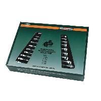 Cle Mixte Jeu de 12 cles mixtes en chrome vanadium M130-12 - 6 a 22 mm