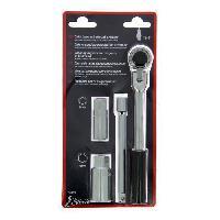Cles XLTECH Cle a bougie 16-21mm a cliquet.L200+rallonge 145