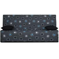 Clic-clac - Banquette Clic-clac OPS - SPLOT Banquette clic-clac 3 places - Tissu Bleu Star - Made in France - L 190 x 95 cm Aucune
