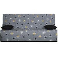 Clic-clac - Banquette Clic-clac OPS - SPLOT Banquette clic-clac 3 places - Tissu Jaune Star - Made in France - L 190 x 95 cm Aucune