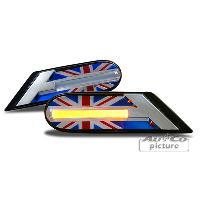 Clignotants Mini Clignotant de cote LED R56R55R57R58R59 Union Jack Design1 - ADNAuto