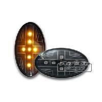 Clignotants Mini Clignotant de cote LED pour Mini R505253 Union Jack Design