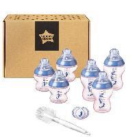 Clip Pot Bebe TOMMEE TIPPEE Starter Kit de Naissance biberons Closer to Nature - Bleu / Rose