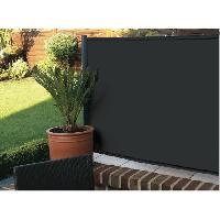 Cloture - Barriere Brise vue Elegance - 200 g-m2 - 1 x 3 m - Noir