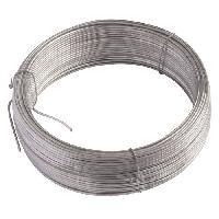 Cloture - Canisse - Brise Vue - Grillage - Panneau Fil de tension galvanise D2 mm L. 50 m