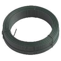 Cloture - Canisse - Brise Vue - Grillage - Panneau LAMS Fil métal plastifié - Ø 2 mm x 15 m - Generique