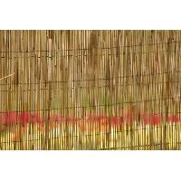 Cloture - Canisse - Brise Vue - Grillage - Panneau Paillon pele 1 x 5 m