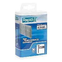 Clou - Pointe RAPID 4200 pointes no8 Rapid Agraf 30mm