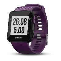 Coach Sportif - Suivi Activites Quotidiennes GARMIN Forerunner 30 Montre GPS de course connectée avec cardio - Violet