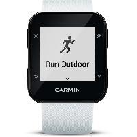 Coach Sportif - Suivi Activites Quotidiennes GARMIN Forerunner 35 HR Montre GPS Cardio - Blanc