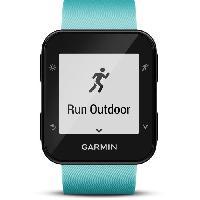 Coach Sportif - Suivi Activites Quotidiennes GARMIN Forerunner 35 Montre GPS Cardio - Vert d'eau