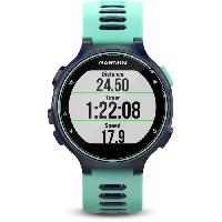 Coach Sportif - Suivi Activites Quotidiennes GARMIN Forerunner 735XT Montre GPS - Bleu et vert d'eau