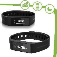 Coach Sportif - Suivi Activites Quotidiennes TOUCH Bracelet connecte SmartWatch noir