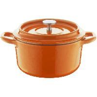 Cocotte BERNDES Cocotte a rôtir avec couvercle Specials Fonte - Ø 10 cm - Orange
