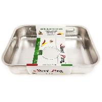Cocotte STEEL PAN SP11221 Plat a four - Steca
