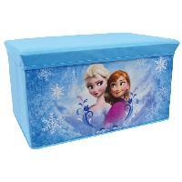 Coffre A Jouets Fun House Disney Reine des Neiges banc de rangement pliable pour enfant - Jemini