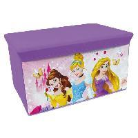 Coffre A Jouets Fun House Disney princesses banc de rangement pliable pour enfant - Jemini