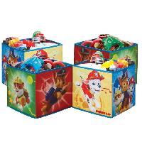 Coffre A Jouets PAT'PATROUILLE Cubes de rangement pour jouets - Garcon