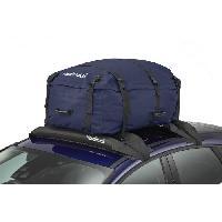 Coffre De Toit HANDIWORLD HandiHoldall Capacite 330 Litres - Coffre de toit souple - Pliable - Resistant aux intemperies - Bleu