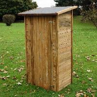 Coffre D'exterieur - Rangements CHALET ET JARDIN Armoire de jardin en bois traite FSC