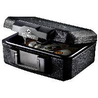Coffre Fort MASTER LOCK Coffre de sécurité ignifugé transportable - 5L - pour documents. USB. etc