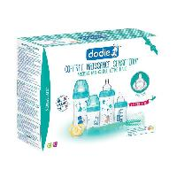 Coffret Biberons COFFRET NAISSANCE Sensation+ x4 biberons -2x150ml + 2x270ml- + 1 goupillon + 1 sucette physiologique 0-2 mois