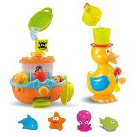 Coffret Cadeau Bebe Coffret jouets de bain 3 activites