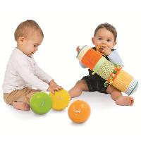 Coffret Cadeau Bebe LUDI Coffret de 3 Balles Sensoriel - Diametre 13 cm
