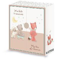 Coffret Cadeau Bebe NATTOU - Mia&Basile Boite a trésor