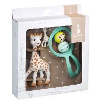 Coffret Cadeau Bebe SOPHIE LA GIRAFE Coffret cadeau il était une fois Sophie la Girafe Vulli