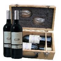 Coffret Cadeau Coffret Duo Degustation + 2 x Cotes de Bourg 2012 - Class Wine