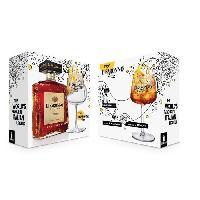 Coffret Cadeau Coffret Liqueur Amaretto Di Saronno + verre Fizz - Liqueur d'amandes - Italie - 28vol - 70cl