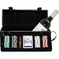 Coffret Cadeau Coffret Poker avec 1 bouteille de Cotes de Bourg