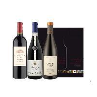 Coffret Cadeau Coffret Trilogie de Grands Vins de France
