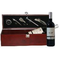 Coffret Cadeau Coffret Vin 5 accessoires + Bordeaux