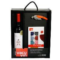 Coffret Cadeau Coffret  Vin Vacuvin La dégustation facile