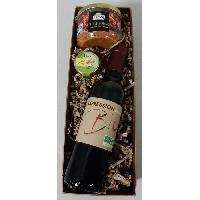 Coffret Cadeau Coffret cadeaux Banneton avec vin et terrine - Bio - Generique