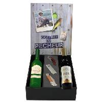 Coffret Cadeau Coffret du Pecheur vin et accessoires - Generique