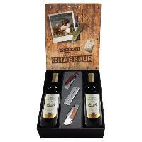 Coffret Cadeau Coffret du chasseur Vin avec accessoires - Generique