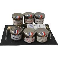 Coffret Cadeau Epicerie - Epicerie Les Recettes Cuites au Chaudron - Corbeille Aperitif chez Lucien - 600 g