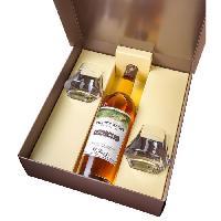 Coffret Cadeau G. Miclo - Welche's Whisky - Single Malt Alsacien - 43 - 70 cl - Coffret - 2 Verres