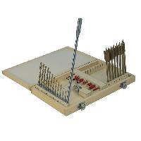 Coffret Consommable Coffret de foret a bois et metal - 28 pieces