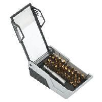 Coffret Consommable PEUGEOT Coffret 31 pieces embouts vissage TIN LG25mm Pro