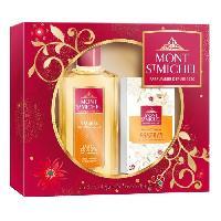 Coffret De Parfum MONT SAINT-MICHEL Coffret Eau de Cologne Ambree Authentique 250 ml + Savon Douceur 125 g