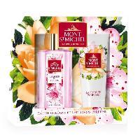 Coffret De Parfum MONT SAINT-MICHEL Coffret Eau de Cologne Cerisier en Fleurs 75 ml + Lait Corps Parfumé 75 ml - Mont St Michel